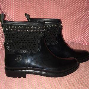 Michael Kors rain boots (short)